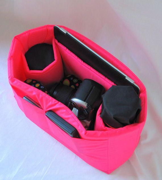 PreOrder Small  DSLR Camera Bag Insert   2 Lens by Martilena, $35.00