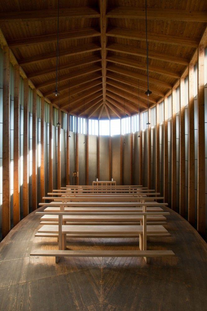Saint Benedict Chapel. 1988. Graubünden, Switzerland. Peter Zumthor.