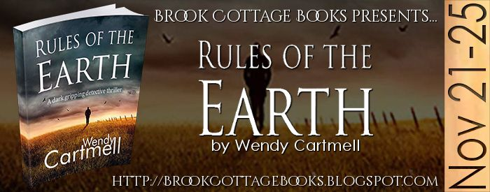 Rules of the Earth: A dark disturbing detective thriller by Wendy Cartmell My rating: 4 of 5 stars Rules of The Earth is an easy read police drama set in the local, to me, town of Aldershot, Hampsh…