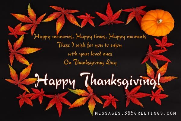 Thanksgiving Quotes, Messages Greetings and Thanksgiving