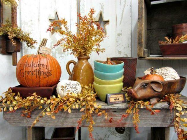 Van geel tot oranje en van rood tot bruin! Met de kleuren van de herfst maak je geweldige decoratie ideetjes voor in en om het huis! - Zelfmaak ideetjes