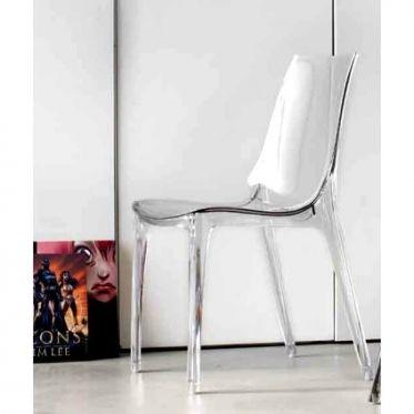 Les 25 meilleures id es de la cat gorie chaise transparente sur pinterest c - Chaise transparente rose ...