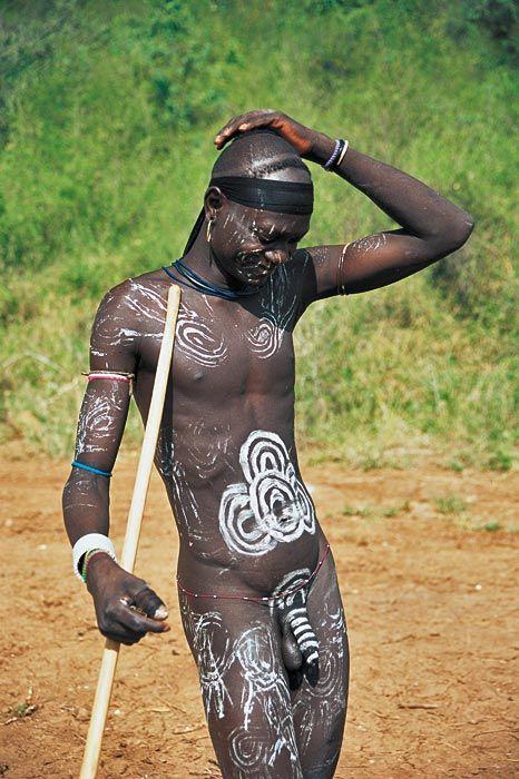 Africa | Mursi man. Omo Valley, Ethiopia | ©Giancarlo Salvador
