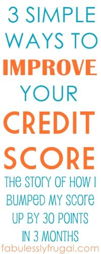 3 easy tips you can do right now to start improving your credit score!    A personal story of how one blogger went from great credit, to bad credit, and back to great credit again.
