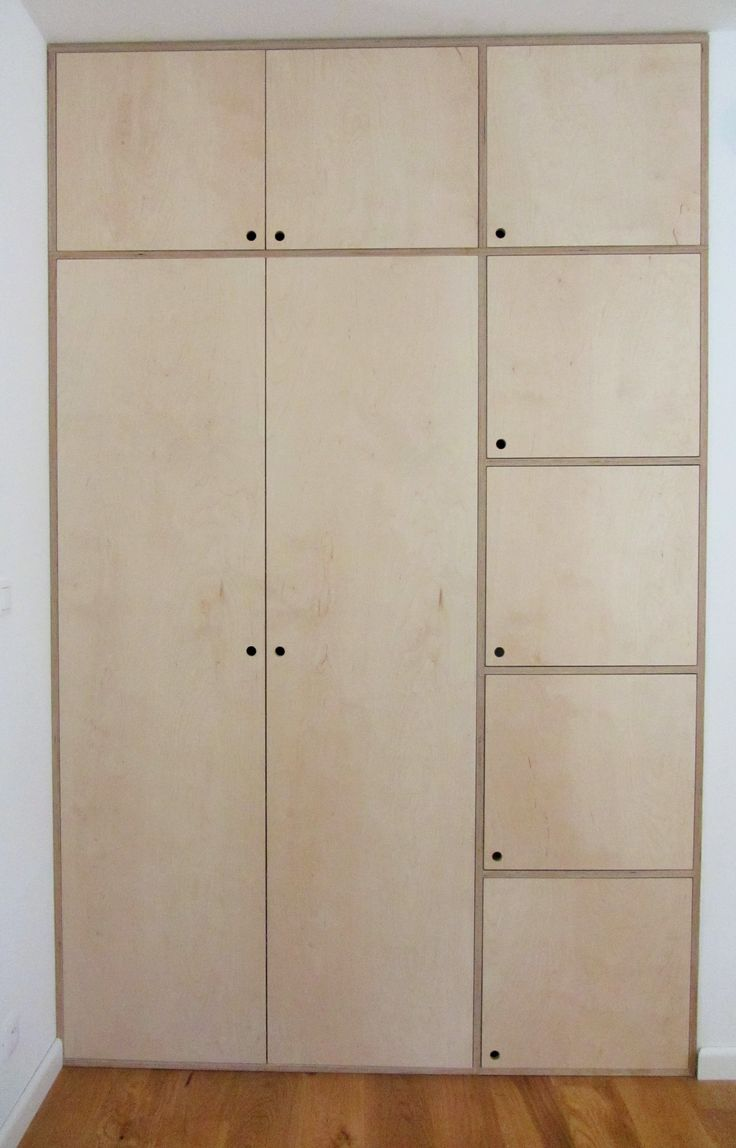 17 best ideas about plywood cabinets on pinterest for Plywood door design