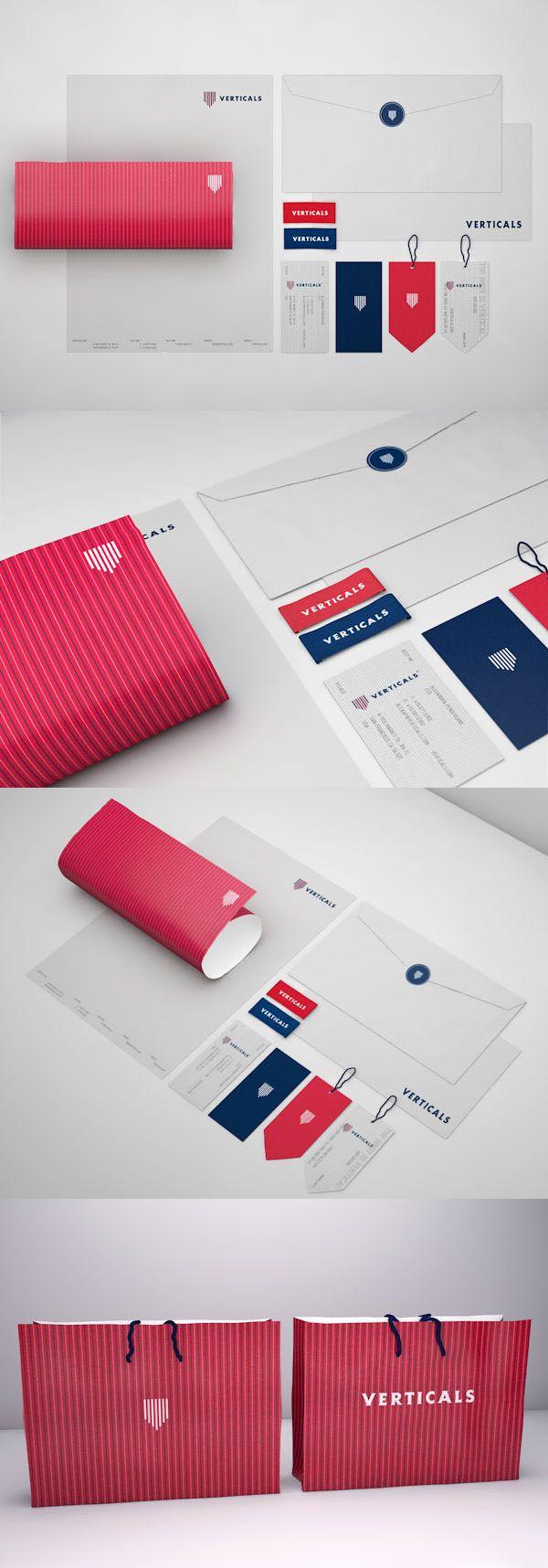 Verticals – identité d'une marque de vêtement - Robinsson Cravents (Colombie)