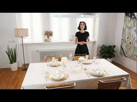 Elegante per le occasioni importanti tavole di gusto - Tavoli apparecchiati per natale ...