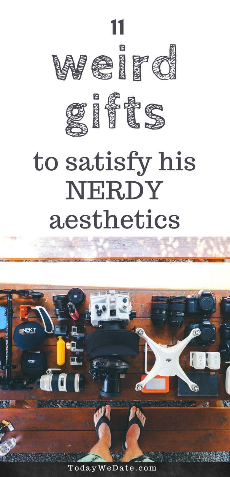 11 Gift Ideas That Will Satisfy His Nerdy Aesthetics