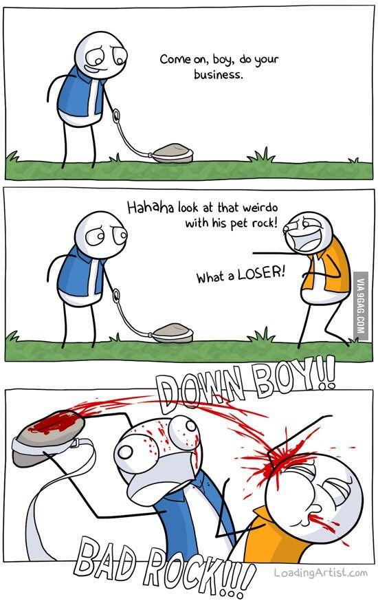 The pet rock