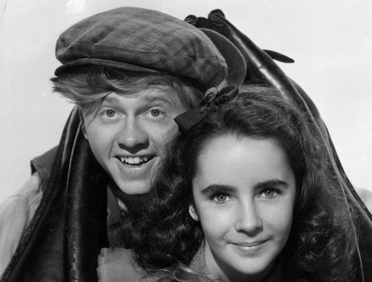 mickey rooney and elizabeth taylor national velvet
