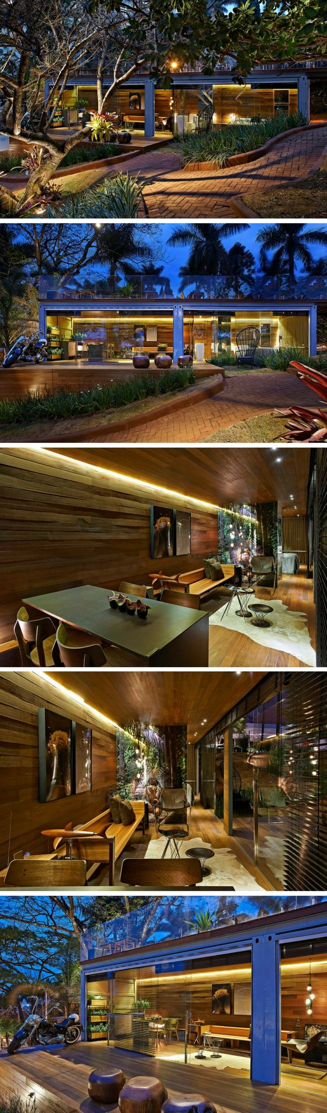 Pocket House Tiny Shipping Container Home