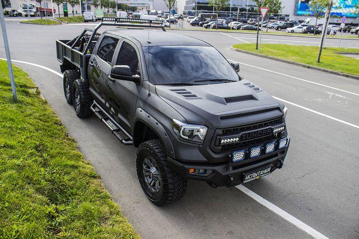 Captivating Toyota Tundra 6x6 HERCULES By 4x4 Tundra Russia #toyota #tundra #tundra6x6  #4x4tundra