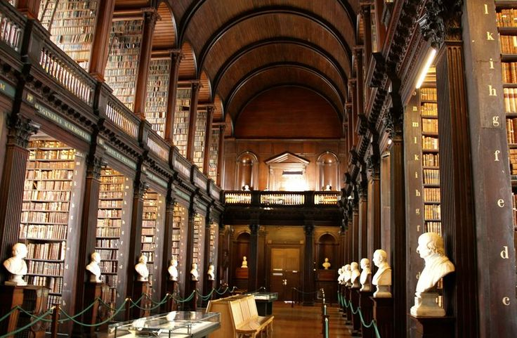 Old library, Trinity College, Dublin.