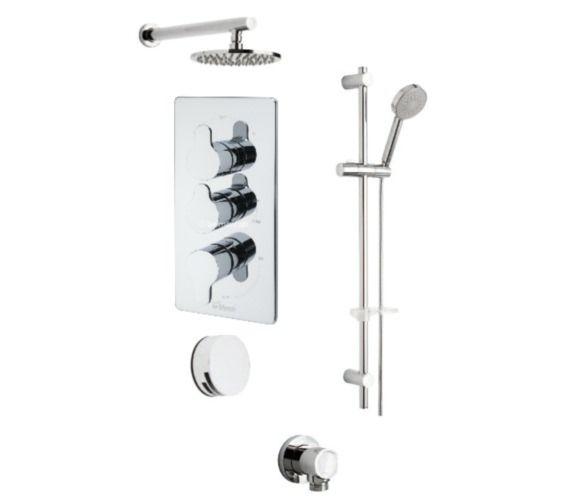 Tre Mercati Lollipop Concealed 3 Way Diverter Valve With Shower Set Shower Set Shower Taps Shower Valve