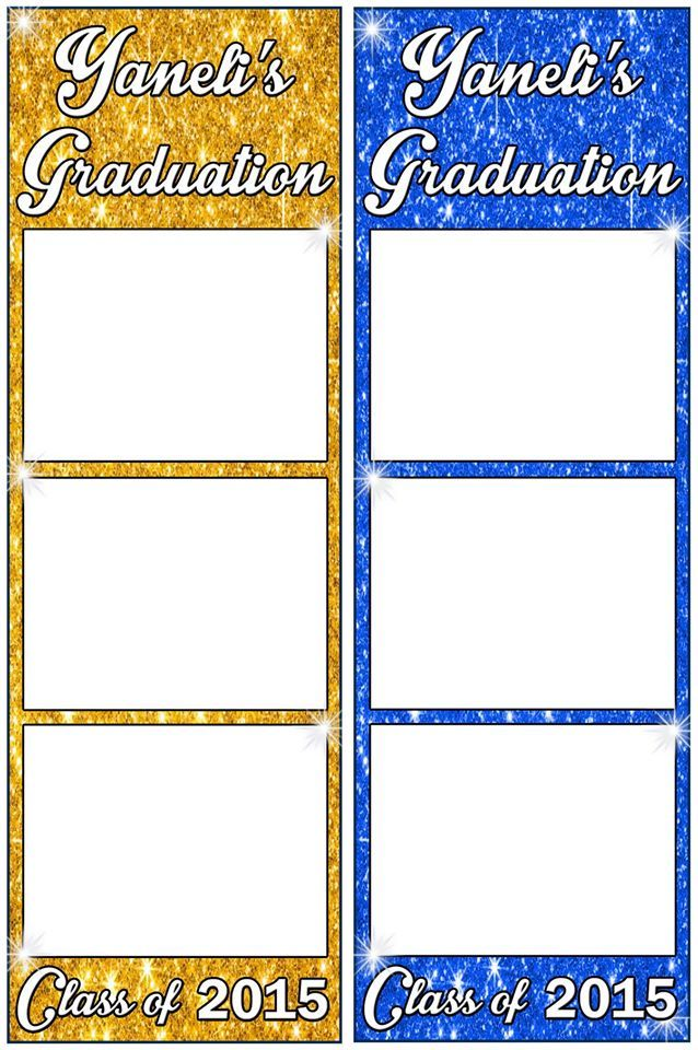 2 Different Colored Photo Strips Will Print Out For Guests