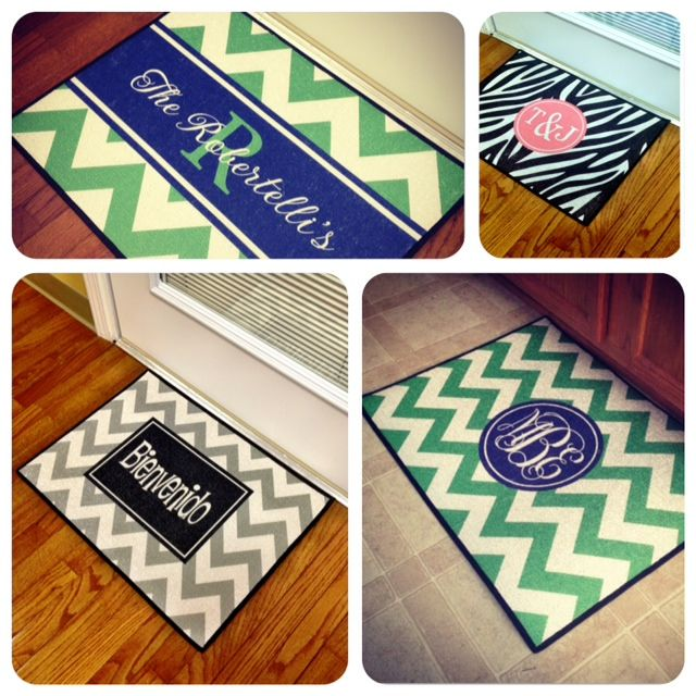 I must have one of these!!! Door Mats - Southern Belle Boutique  Love these-great gift