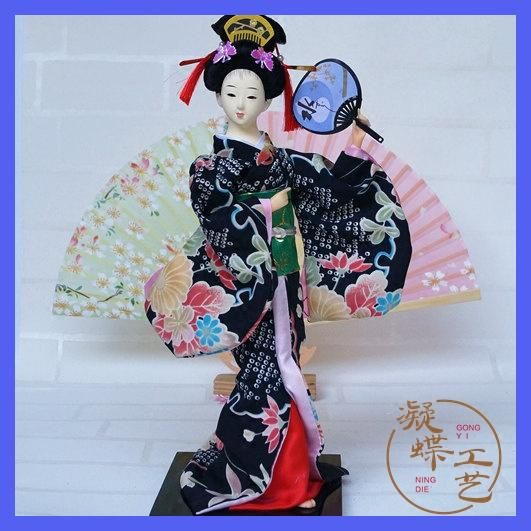 Decoration Arts crafts girl gifts get married Boutique shipping Japanese I Juan 32CM Home Furnishing Japanese Geisha doll Chines
