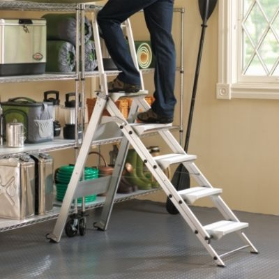 Deep-step Safety Ladders