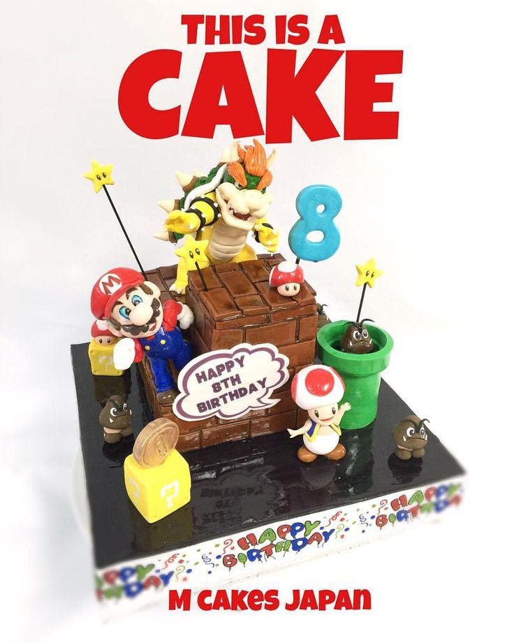 元気いっぱいなイメージのマリオ&クッパ大魔王 ケーキ #マリオ #クッパ大魔王 #ゲーム #元気盛り #元気 #cakedecorating #supermario #koopa #kingkoopa #mariogame #mariobros #cake #supermariocake #sugarfigure #fondantfigure #fondantcake #誕生日 #sugar