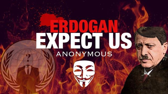 Anonymous Press Release Operation Turkey #OpTurkey. Turkish people will liberate the country against the impact of the oppression made by the Turkish Government. With all kinds of interventions, we will try to empower the people of turkey. You can support us to fight Erdoğan and you can do something to prevent the ongoing purge of freedoms in Turkey, we have to enlighten Turkish people to reveal the truth.