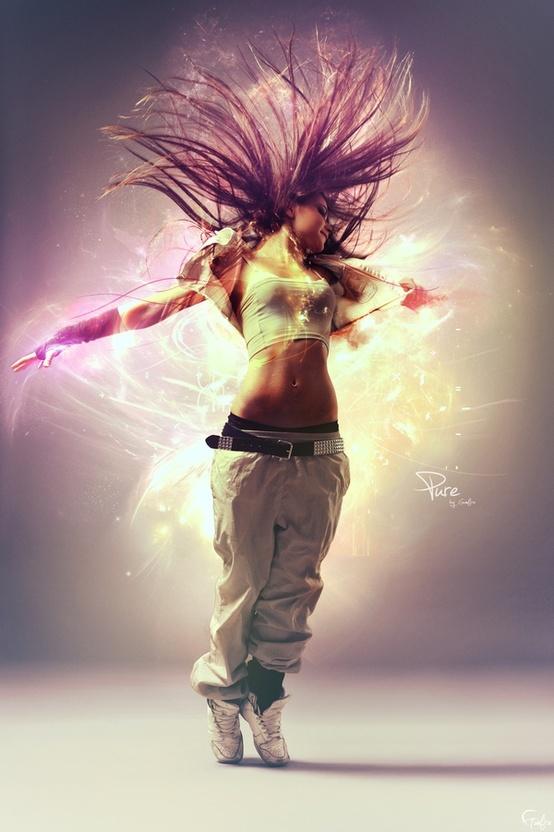 конечность я танцую разноцветные картинки ночной фотопроект, который