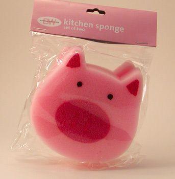 Piggy Kitchen Sponge (016044)
