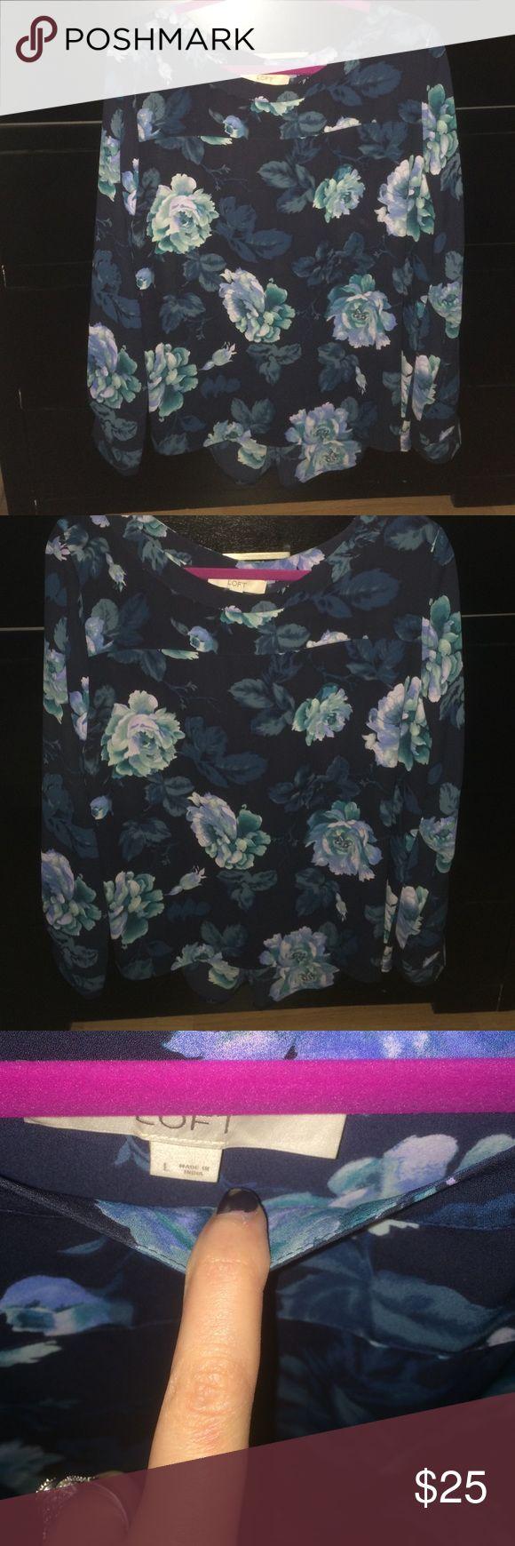 Brand new Ann Taylor Loft blouse💠 Never been worn Anne Taylor loft blouse LOFT Tops Blouses