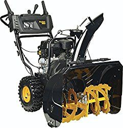 Poulan PRO PR271 – 27-Inch 254cc Two Stage Electric Start with Power Steering Snowthrower – 961920091