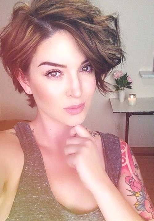 20 Long Pixie Haircut for Thick Hair… 20 Long Pixie Haircut for Thick Hair  http://www.tophaircuts.us/2017/05/05/20-long-pixie-haircut-for-thick-hair/