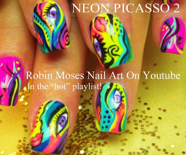 The 25 best picasso nails ideas on pinterest abstract nail art picasso nails nail art picasso nail art robin moses picasso abstract nail art abstract nails abstract nail ideas abstract design neon prinsesfo Image collections