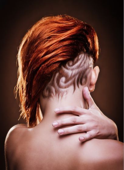 Hair Tattoos for girls - Tattoo Designs For Women!