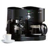 Mr. Coffee ECM21 4-Shot Espresso Machine and 8-Cup Coffeemaker Combo, Black (Kitchen)By Mr. Coffee