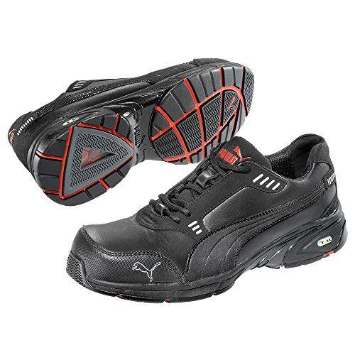 Puma Safety Shoes Velocity Low S3 HRO SRA, Puma 642570-200 Unisex-Erwachsene Espadrille Halbschuhe, Schwarz (schwarz 200), EU 39 - http://on-line-kaufen.de/puma-time/39-eu-puma-safety-sicherheitsschuhe-motion-low-64