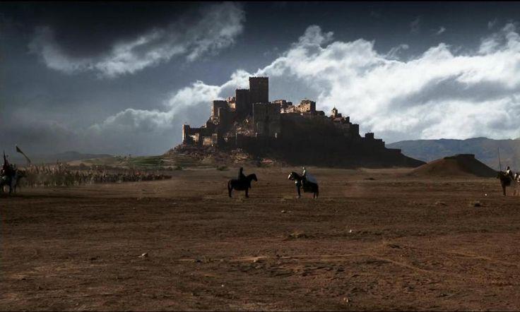 El castillo de Loarre y 'El reino de los cielos'.Ridley Scott