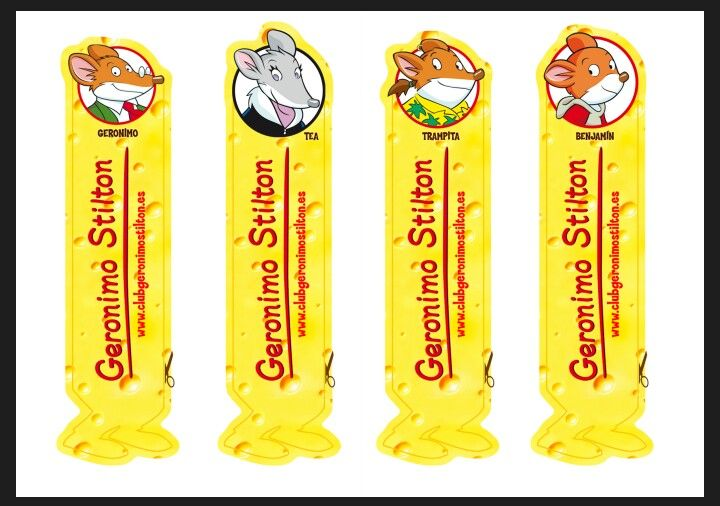 Geronimo stilton bookmarkers