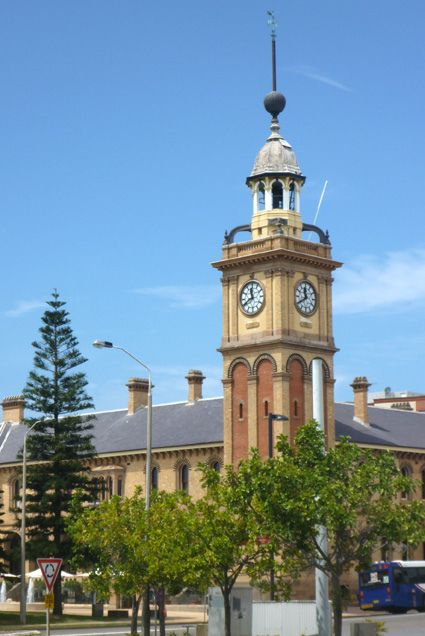 Historic Customs House Clock Tower, Newcastle, NSW, Australia