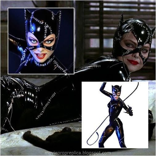 Michelle Pfeiffer as Selina Kyle (Batman Returns) / Catwoman have nine lives, like a cat. It's a perfect, sexy domination statue.
