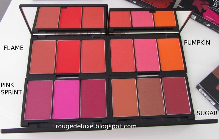 Thanks to my dear husband, I managed to get four of the five new Sleek  Blush By…