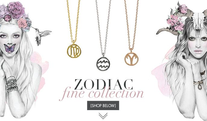 ZODIAC collection by Samantha Wills, illustration by Kelly Smith