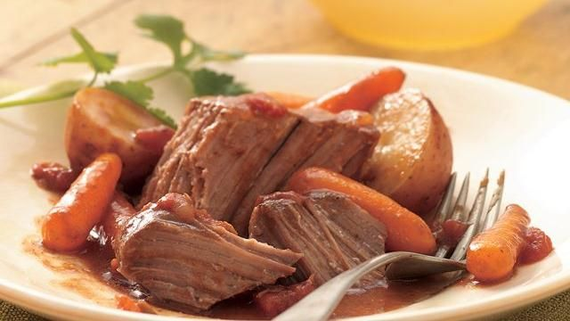 Slow-Cooker Southwestern Pot Roast | Recipe | Jars, Roast recipes and ...