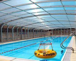 coperture scorrevoli per piscine chiusa