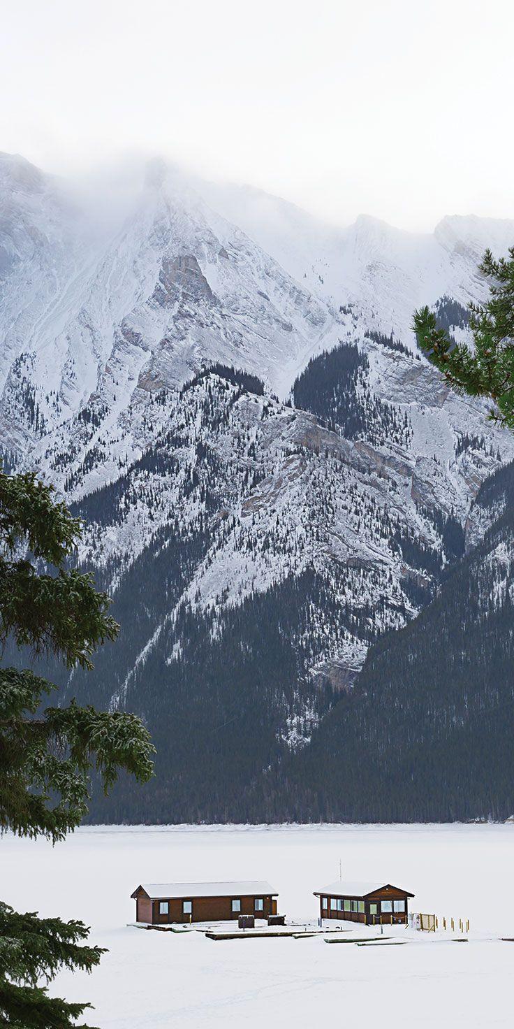 A wilderness retreat in Alberta, Canada by @laurenepbath on IG