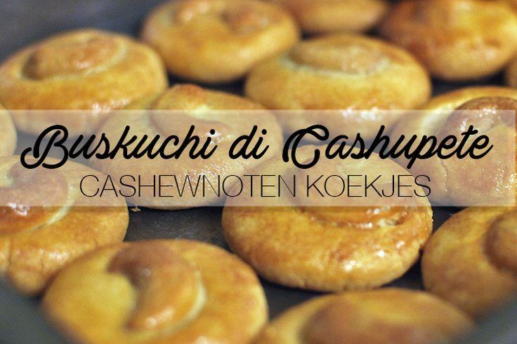 Simpel, schattig en zó gemaakt... Geen tijd voor een hele bolo di cashupete, maar wél trek in de smaak? Deze cashewnoten koekjes zijn dan echt een uitkomst!