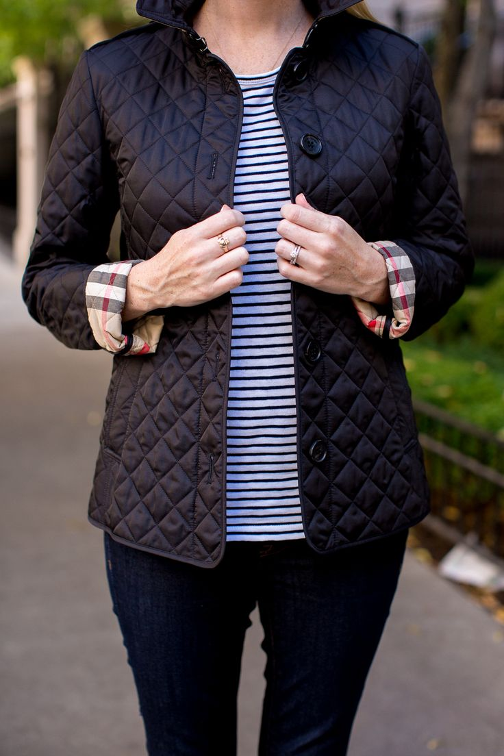 Burberry Ashurst Quilted Jacket Black-34