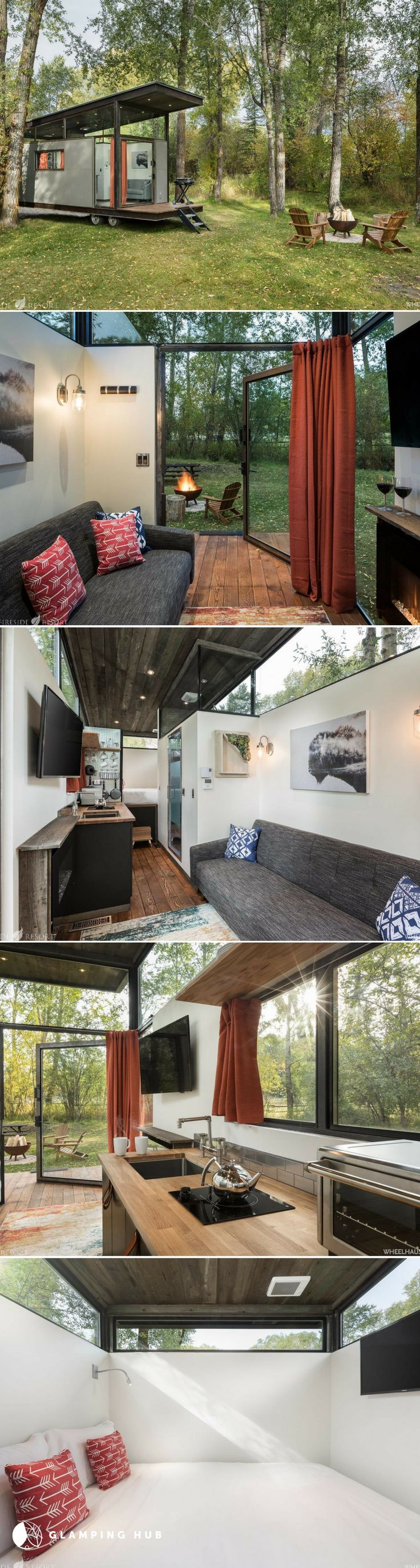 Best Tiny House Rentals Ideas On Pinterest Rental Homes Near - Couple takes tiny house big adventure