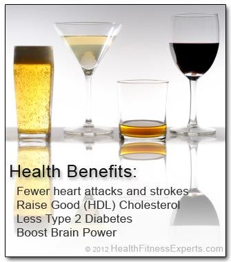 Research finds new health benefits of drinking 1 alcoholic beverage a day   Shape Magazine