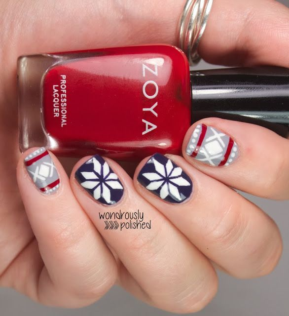 Winter inspired Tutorials - Deb Shops Mani Mondays