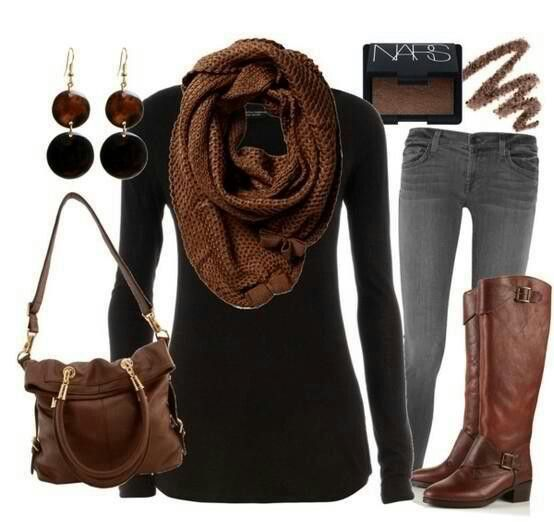 Browns/fall outfit