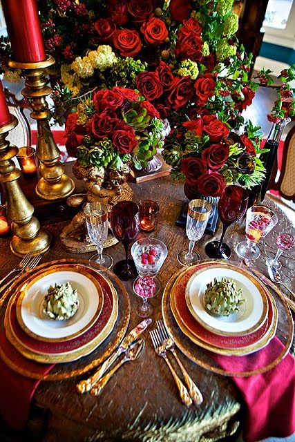 Holiday table: