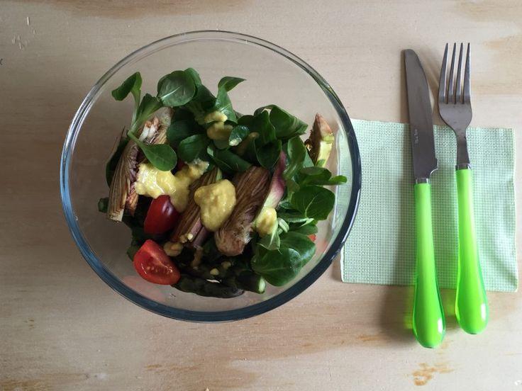 #insalata di #carciofi e #asparagi